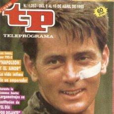 Coleccionismo de Revista Teleprograma: REVISTA TELEPROGRAMA Nº 1253 APOCALYPSE NOW. Lote 37314039