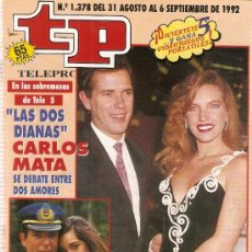 Coleccionismo de Revista Teleprograma: REVISTA TELEPROGRAMA Nº 1378 . Lote 37314304