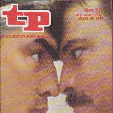 Coleccionismo de Revista Teleprograma: REVISTA TELEPROGRAMA Nº 877. Lote 37314707