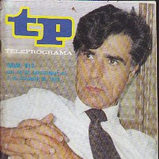 Coleccionismo de Revista Teleprograma: REVISTA TELEPROGRAMA Nº 912 JESUS HERMIDA. Lote 37315099