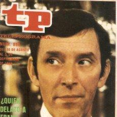 Coleccionismo de Revista Teleprograma: REVISTA TELEPROGRAMA Nº 856. Lote 37440269