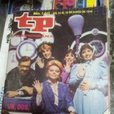 Coleccionismo de Revista Teleprograma: REVISTA TELEPROGRAMA TP NUMERO 1042 SEPTIEMBRE 1986. Lote 39285316