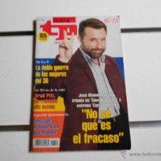 Collectionnisme de Magazine Teleprograma: REVISTA TELEPROGRAMA Nº 1724. JOSE MANUEL PARADA. Lote 40022149