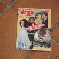 Coleccionismo de Revista Teleprograma: TELEPROGRAMA 1206 DEL 15 AL 21 DE MAYO DE 1989 . Lote 42369729