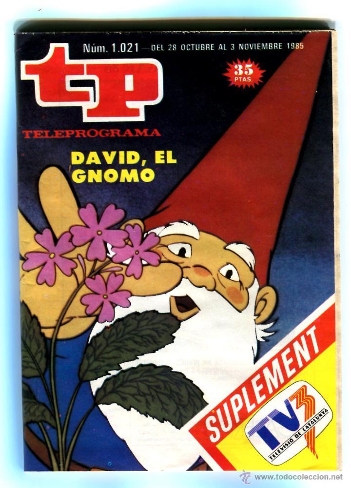 TP Nº 1021 28 DE OCTUBRE AL 3 NOVIEMBRE 1985 BIEN CONSERVADO (Coleccionismo - Revistas y Periódicos Modernos (a partir de 1.940) - Revista TP ( Teleprograma ))