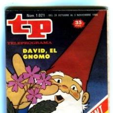 Coleccionismo de Revista Teleprograma: TP Nº 1021 28 DE OCTUBRE AL 3 NOVIEMBRE 1985 BIEN CONSERVADO. Lote 42372351