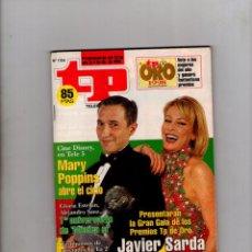 Coleccionismo de Revista Teleprograma: TP Nº 1704 - AÑO 1998 -- JAVIER SARDA Y ANA OBREGON *. Lote 43219355