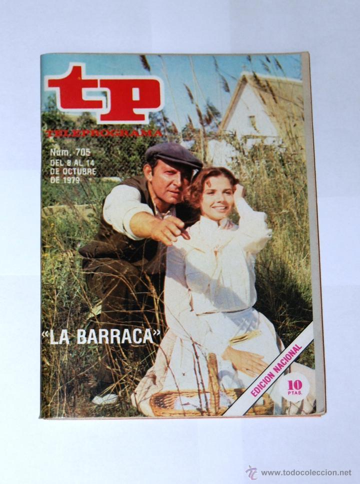 TP TELEPROGRAMA Nº705- OCTUBRE 1979. (Coleccionismo - Revistas y Periódicos Modernos (a partir de 1.940) - Revista TP ( Teleprograma ))