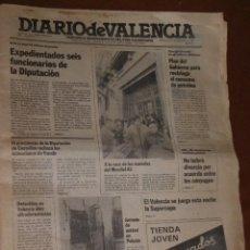 Coleccionismo de Revista Teleprograma: DIARIO DE VALENCIA, N.1. Lote 43536212
