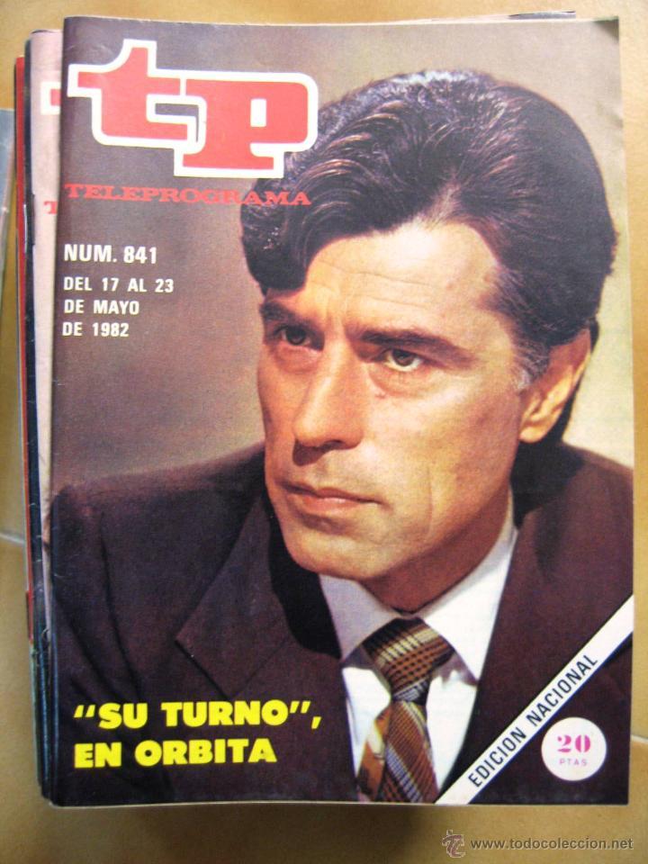 TP TELEPROGRAMA Nº 841 DE 1982 (Coleccionismo - Revistas y Periódicos Modernos (a partir de 1.940) - Revista TP ( Teleprograma ))