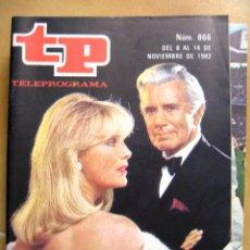 Coleccionismo de Revista Teleprograma: TP TELEPROGRAMA Nº 866 DE NOVIEMBRE DE 1982 DINASTIA OTRO DALLAS. Lote 43698563