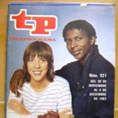 Coleccionismo de Revista Teleprograma: TP TELEPROGRAMA Nº 921 DE DICIEMBRE DE 1983 TOCATA. Lote 43698987