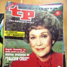 Coleccionismo de Revista Teleprograma: TP Nº 1207 DE MAYO DE 1989 FALCON CREST. Lote 43701109