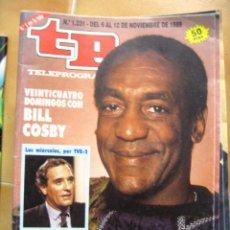 Coleccionismo de Revista Teleprograma: TP Nº 1231 DE NOVIEMBRE DE 1989 BILL COSBY. Lote 43701133