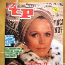 Coleccionismo de Revista Teleprograma: TP Nº 1246 DE FEBRERO DE 1990 LEE REMICK. Lote 43701168