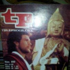 Coleccionismo de Revista Teleprograma: REVISTA TELEPROGRAMA TP NUMERO 890 MAYO 1983 . Lote 44029712