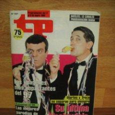 Coleccionismo de Revista Teleprograma: TELEPROGRAMA Nº 1657 MARTES Y TRECE - ENERO DE 1998. Lote 44322455