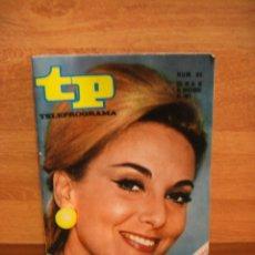 Coleccionismo de Revista Teleprograma: TELEPROGRAMA Nº 85 PILAR CAÑADA - NOVIEMBRE DE 1967. Lote 44322517