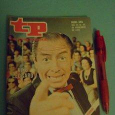 Coleccionismo de Revista Teleprograma: REVISTA TELEPROGRAMA N º 346 ( TP ) - AÑO 1972 - KIKO LEDGARD - UN DOS TRES. Lote 44333135