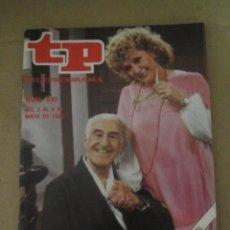 Coleccionismo de Revista Teleprograma: ANTIGUO TP TELEPROGRAMA Nº 839 - AÑO 1982 CON REPORTAJE DE DON BALDOMERO Y SU GENTE. Lote 44412020