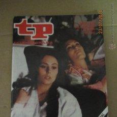 Coleccionismo de Revista Teleprograma: ANTIGUO TP TELEPROGRAMA Nº 838 - AÑO 1982 CON REPORTAJE DE LA SERIE JUANITA LA LARGA. Lote 44412068