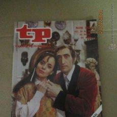 Coleccionismo de Revista Teleprograma: ANTIGUO TP TELEPROGRAMA Nº 842 - AÑO 1982 CON REPORTAJE DE VERDE QUE TE QUIERO VERDE. Lote 44412207