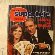 Coleccionismo de Revista Teleprograma: REVISTA - TIPO TP - TELE SIETE TELESIETE Nº 36 1980 SALTA LA BANCA JOAQUIM PRATS. Lote 45356470