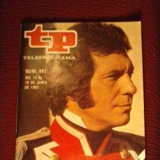 Coleccionismo de Revista Teleprograma: .1 TELEPROGRAMA ** TP CON SANCHO GRACIA ** DE MADRID - Nº 897 DEL 13 AL 19-6-1983 - EL EMPECINADO. Lote 46464787
