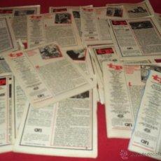 Coleccionismo de Revista Teleprograma: LOTE DE 17 REVISTAS TP TELEPROGRAMAS AÑOS 80. Lote 46870088