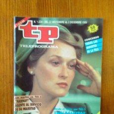 Coleccionismo de Revista Teleprograma: TP TELEPROGRAMA Nº 1234, DE NOVIEMBRE-DICIEMBRE 1989. MERYL STREEP, EN 'HOLOCAUSTO'. BUEN ESTADO. Lote 145917248