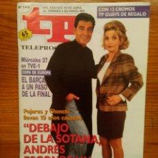 Coleccionismo de Revista Teleprograma: TP TELEPROGRAMA Nº 1465, DE ABRIL-MAYO 1994. ANDRÉS PAJARES Y CHONCHI, 'AY, SEÑOR, SEÑOR'. NUEVA. Lote 47161698