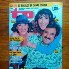 Coleccionismo de Revista Teleprograma: TP TELEPROGRAMA Nº 2039, DE MAYO 2005. PAZ PADILLA, 'MIS ADORABLES VECINOS'. NUEVA, SIN USO. Lote 47373986