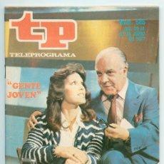 Coleccionismo de Revista Teleprograma: TP - TELEPROGRAMA - 1977 - GENTE JOVEN. Lote 47508085
