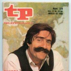 Coleccionismo de Revista Teleprograma: TP - TELEPROGRAMA - 1980 - MIGUEL DE LA QUADRA SALCEDO. Lote 47700966