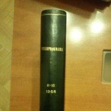 Coleccionismo de Revista Teleprograma: TELEPROGRAMAS AÑO 66. Lote 47923811