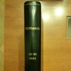 Coleccionismo de Revista Teleprograma: TELEPROGRAMAS AÑO 66. Lote 47923886