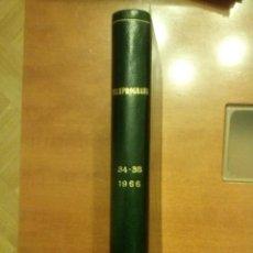 Coleccionismo de Revista Teleprograma: TELEPROGRAMAS AÑO 66. Lote 47923966