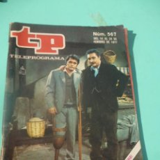 Coleccionismo de Revista Teleprograma: REVISTA TP TELEPROGRAMA N 567. Lote 49220089