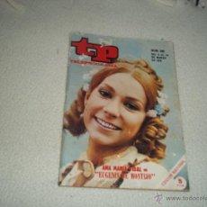 Coleccionismo de Revista Teleprograma: REVISTA TP Nº 205 AÑO 1970 ANA MARIA VIDA EN EUGENIA DE MONTIJO,SERRAT. Lote 49412195