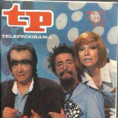 Coleccionismo de Revista Teleprograma: TP TELEPROGRAMA NUM. 587 : EL MONSTRUO DE SANCHEZTEIN . Lote 49450921
