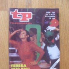 Coleccionismo de Revista Teleprograma: REVISTA TELEPROGRAMA NUMERO 767 TERESA RABAL. Lote 50148464