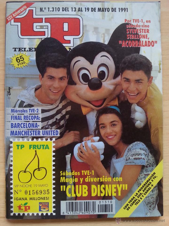 TP TELEPROGRAMA 1310 CLUB DISNEY (1991) (Coleccionismo - Revistas y Periódicos Modernos (a partir de 1.940) - Revista TP ( Teleprograma ))