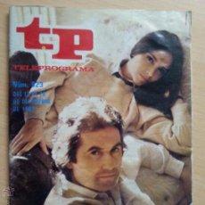 Coleccionismo de Revista Teleprograma: TP TELEPROGRAMA 923. VICTOR MANUEL Y ANA BELÉN (1983). Lote 50551057