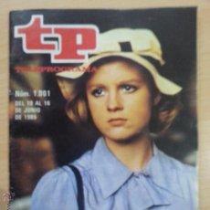 Coleccionismo de Revista Teleprograma: TP TELEPROGRAMA 1001 LA JOYA DE LA CORONA (1985). Lote 50728044