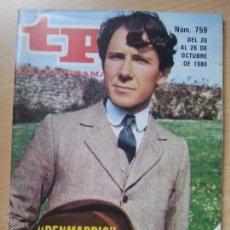 Coleccionismo de Revista Teleprograma: TP TELEPROGRAMA 759 PENMARRIC (1980). Lote 50755155