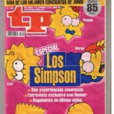 Collectionnisme de Magazine Teleprograma: TP. TELEPROGRAMA. Nº 1835. DEL 4 AL 10 JUNIO 2001. (P/B1). Lote 50794315