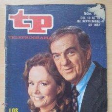 Coleccionismo de Revista Teleprograma: TP TELEPROGRAMA 858 SKAG - KARL MALDEN, PIPER LAURIE (1982). Lote 50811666
