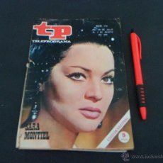 Coleccionismo de Revista Teleprograma: REVISTA TP ~ TELEPROGRAMA ~ Nº 173 ~1969 ~ SARA MONTIEL . Lote 50861725