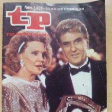 Coleccionismo de Revista Teleprograma: TP TELEPROGRAMA 1036 MUJERES DE HOLLYWOOD (1986). Lote 50869332