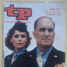 Coleccionismo de Revista Teleprograma: TP TELEPROGRAMA 875 IKE - ROBERT DUVALL, LEE REMICK (1983). Lote 50870042